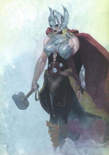 Marvel отберут молот  у Тора и передадут его женщине. Изображение № 1.
