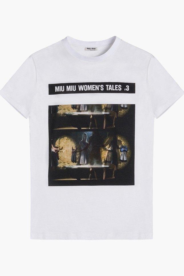 Miu Miu посвятили коллекцию футболок современным женщинам. Изображение № 9.