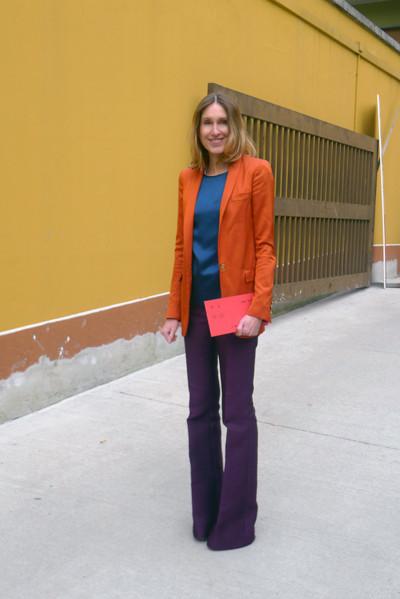 Изображение 1. Milan Fashion Week: день пятый – луки.. Изображение № 1.