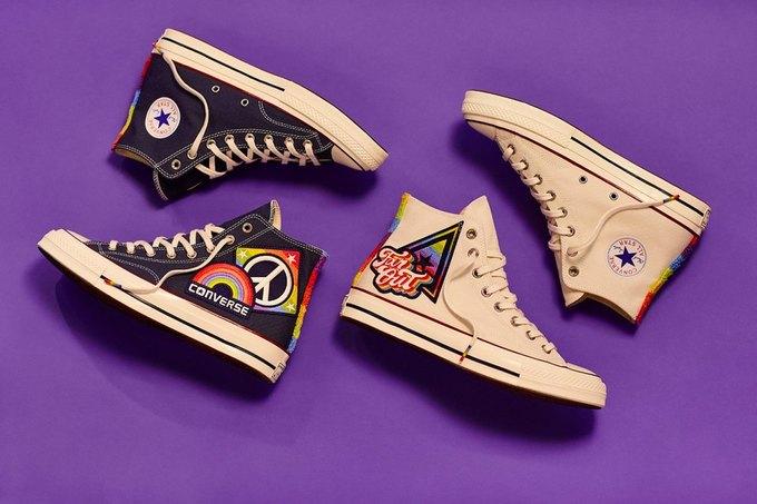 Nike и Converse представили коллекции  в поддержку ЛГБТ. Изображение № 4.
