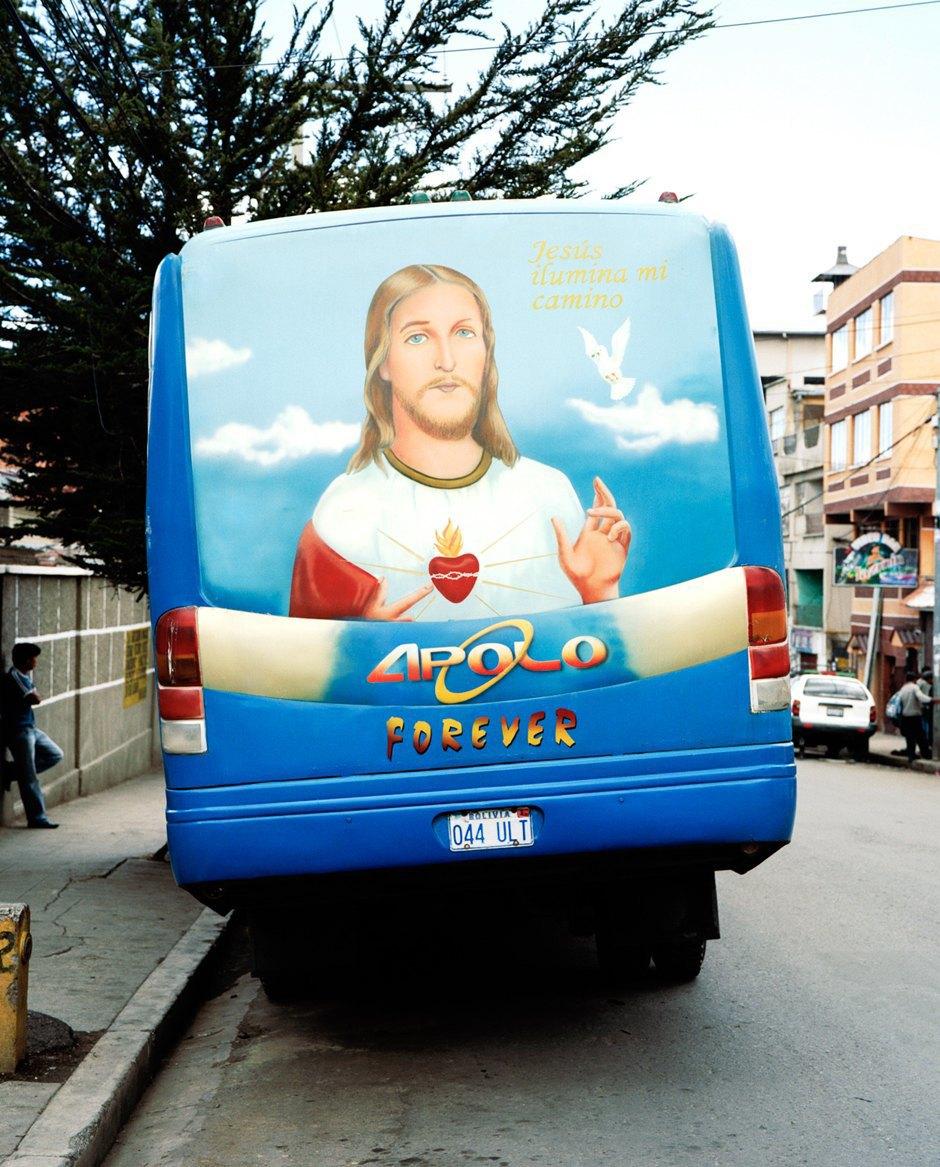 «Боливийские автобусы»:  Поп-культура на колесах. Изображение № 2.