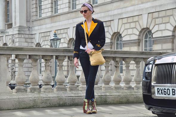 London Fashion Week: Уличный стиль, часть 2. Изображение № 20.