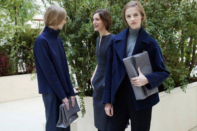 Объемные пальто и клетка в осеннем лукбуке Zara. Изображение № 9.
