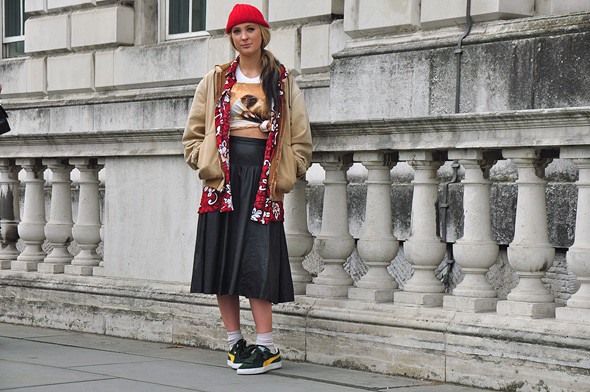 London Fashion Week: Уличный стиль, часть 2. Изображение № 16.