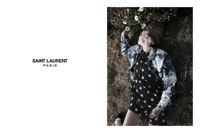 Звезда «Любви» Гаспара Ноэ и сын Килмера снялись в рекламе Saint Laurent. Изображение № 16.