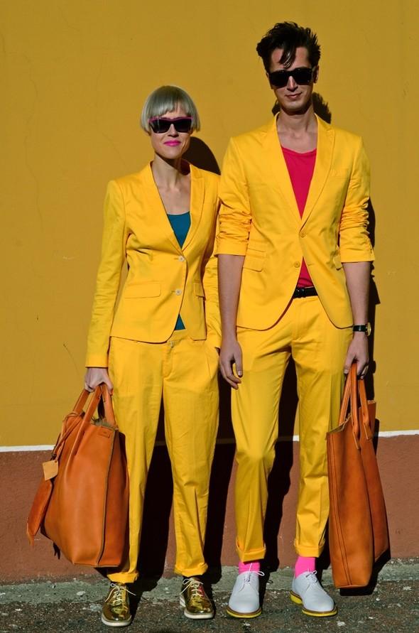 Неделя моды в Милане: Streetstyle. Изображение № 16.