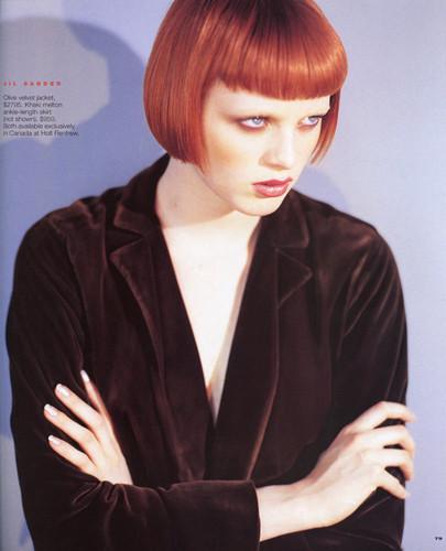 Фантастическая миссис Фокс: 8 моделей с рыжими волосами. Изображение № 1.