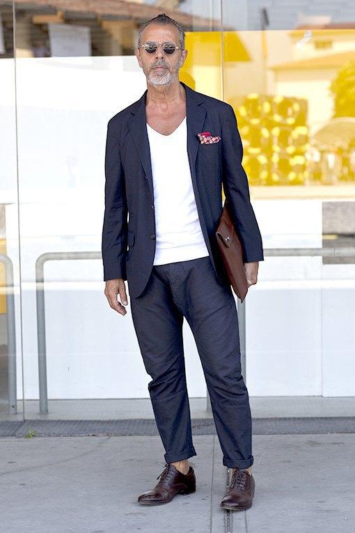 Красивые  мужчины  на Pitti Uomo. Изображение № 24.