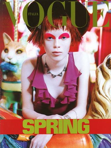 Фантастическая миссис Фокс: 8 моделей с рыжими волосами. Изображение № 10.