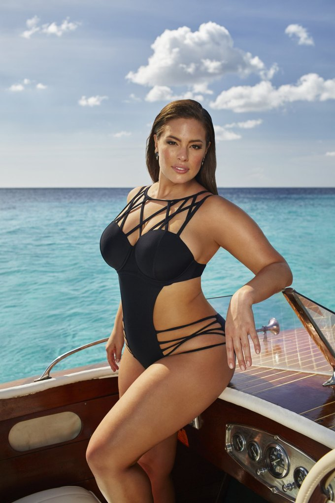 Эшли Грэхэм создала коллекцию купальников  для Swimsuits for All. Изображение № 1.