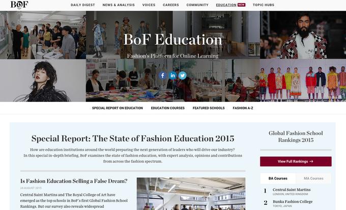 The Business of Fashion запустили онлайн-курсы, посвященные моде. Изображение № 1.