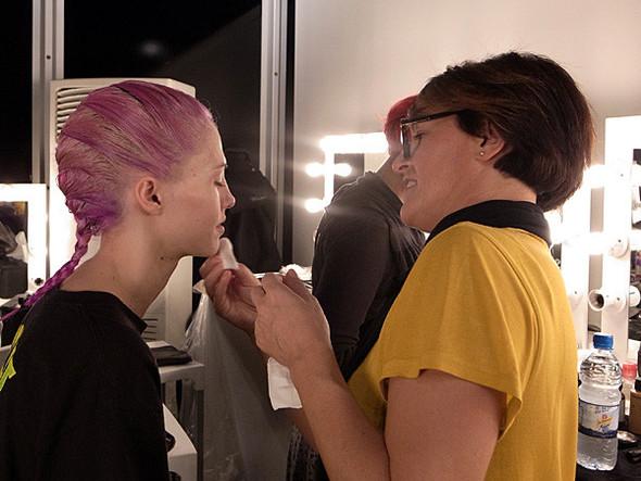 London Fashion Week: Бэкстейдж Danielle Scutt. Изображение № 1.
