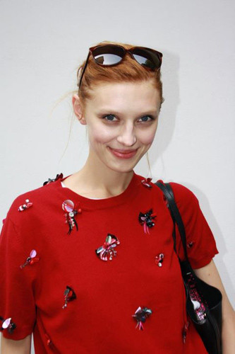 Фантастическая миссис Фокс: 8 моделей с рыжими волосами. Изображение № 42.