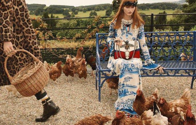 Gucci выпустили кампанию с Ванессой Редгрейв. Изображение № 5.