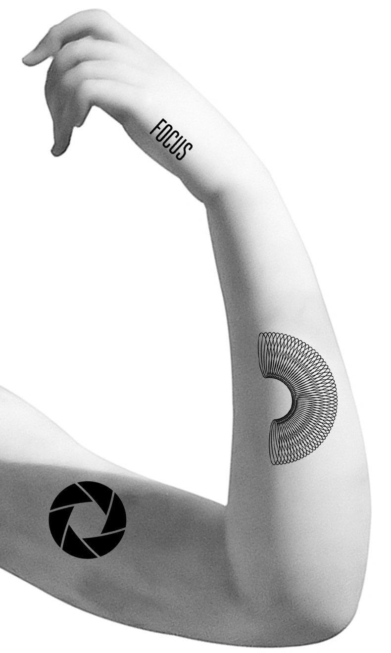 Забить на время:  Переводные  татуировки. Изображение № 2.
