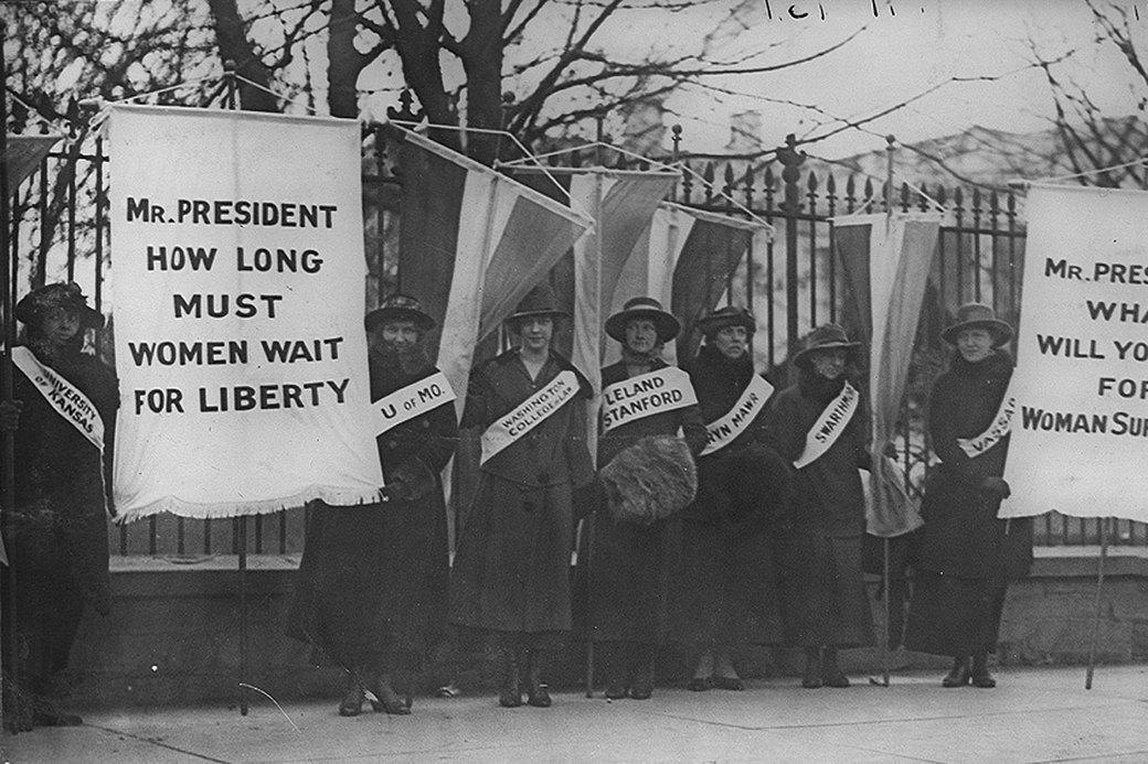 Двигатель прогресса: Победы феминизма, изменившие нашу жизнь. Изображение № 1.