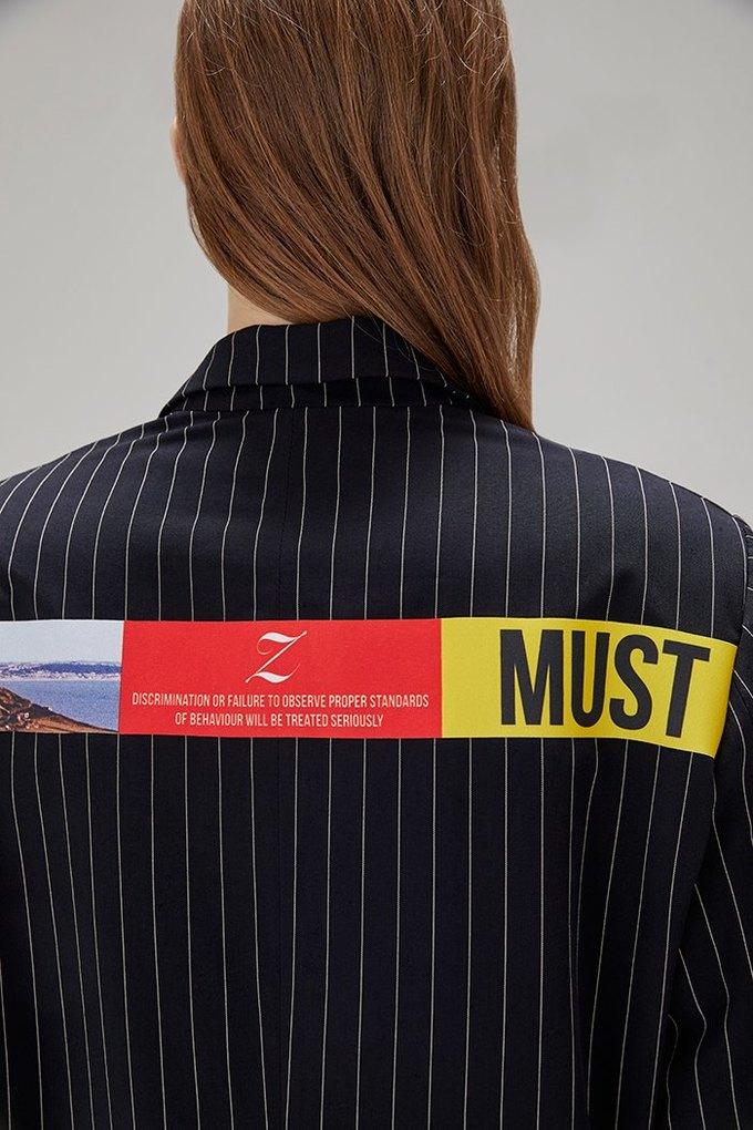 ZDDZ представили ироничную коллекцию  о корпоративной культуре. Изображение № 59.