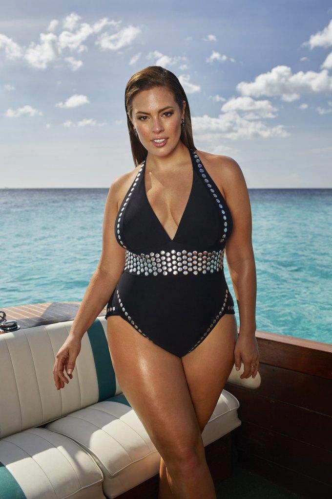 Эшли Грэхэм создала коллекцию купальников  для Swimsuits for All. Изображение № 5.