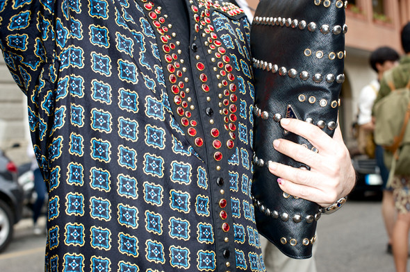 Стрит-стайл: Неделя мужской моды в Милане. Изображение № 4.