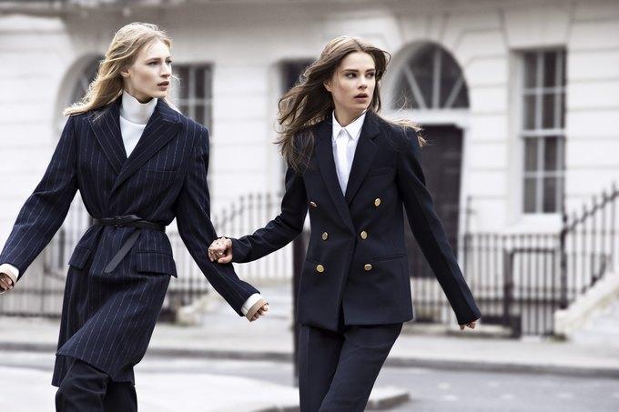 Модели на улицах Лондона в новой кампании Zara. Изображение № 3.