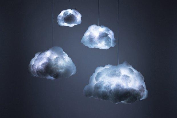 Лампы Richard Clarkson в виде облаков. Изображение № 4.