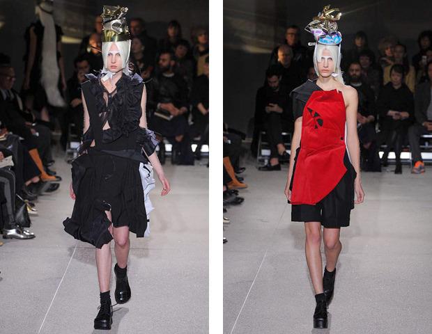 Парижская неделя моды: показы Haider Ackermann, Viktor&Rolf, Vivienne Westwood, Junya Watanabe и CDG. Изображение № 32.