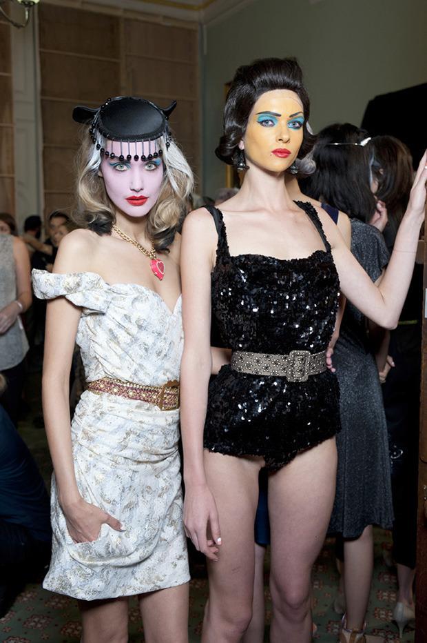 Неделя моды в Лондоне: Бэкстейджи. Изображение № 10.