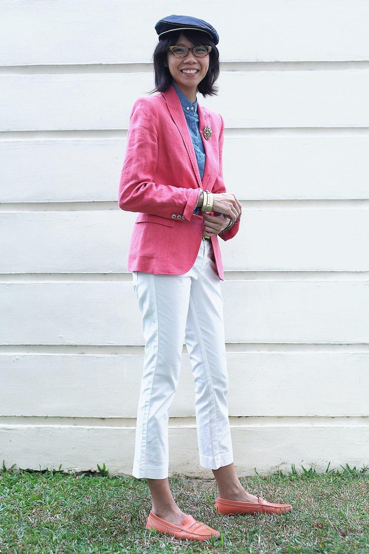 Гардероб: Джени Кай,  директор моды Esquire Singapore . Изображение № 22.