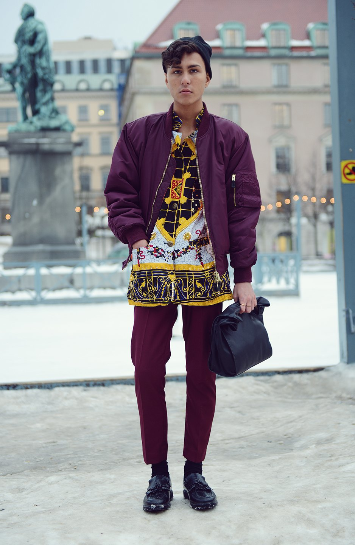 Шубы и горох на Stockholm Fashion Week. Изображение № 26.