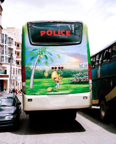 «Боливийские автобусы»:  Поп-культура на колесах. Изображение № 6.