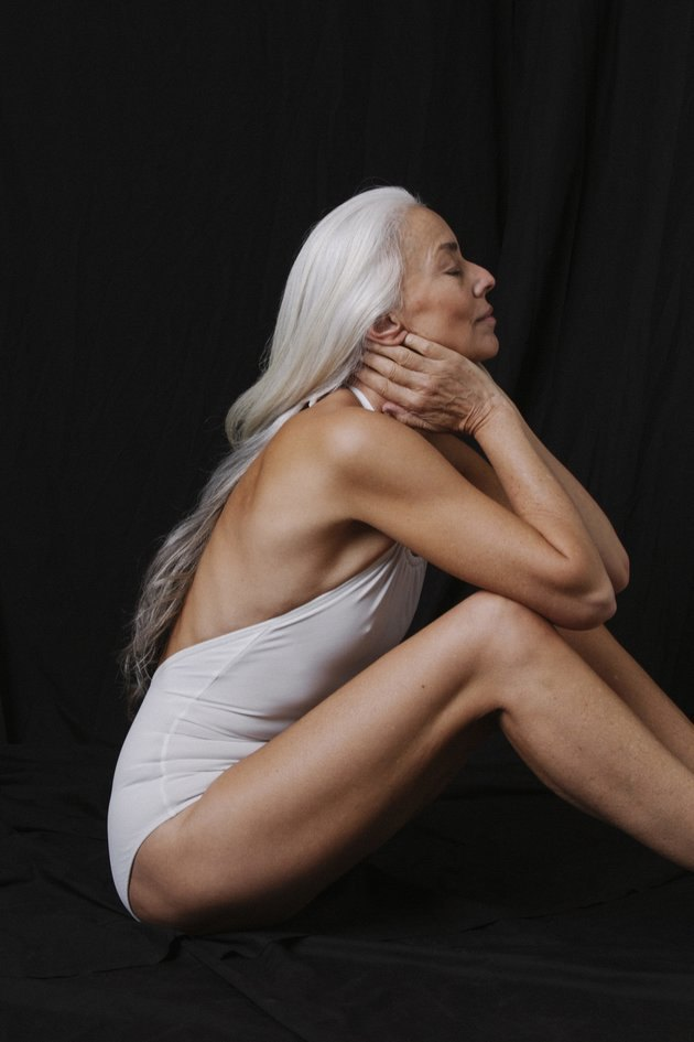 60-летняя модель Ясмина Росси снялась в рекламе купальников. Изображение № 2.