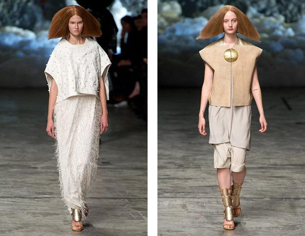 Неделя моды в Париже: Показы Balenciaga, Carven, Rick Owens, Nina Ricci, Lanvin. Изображение № 55.