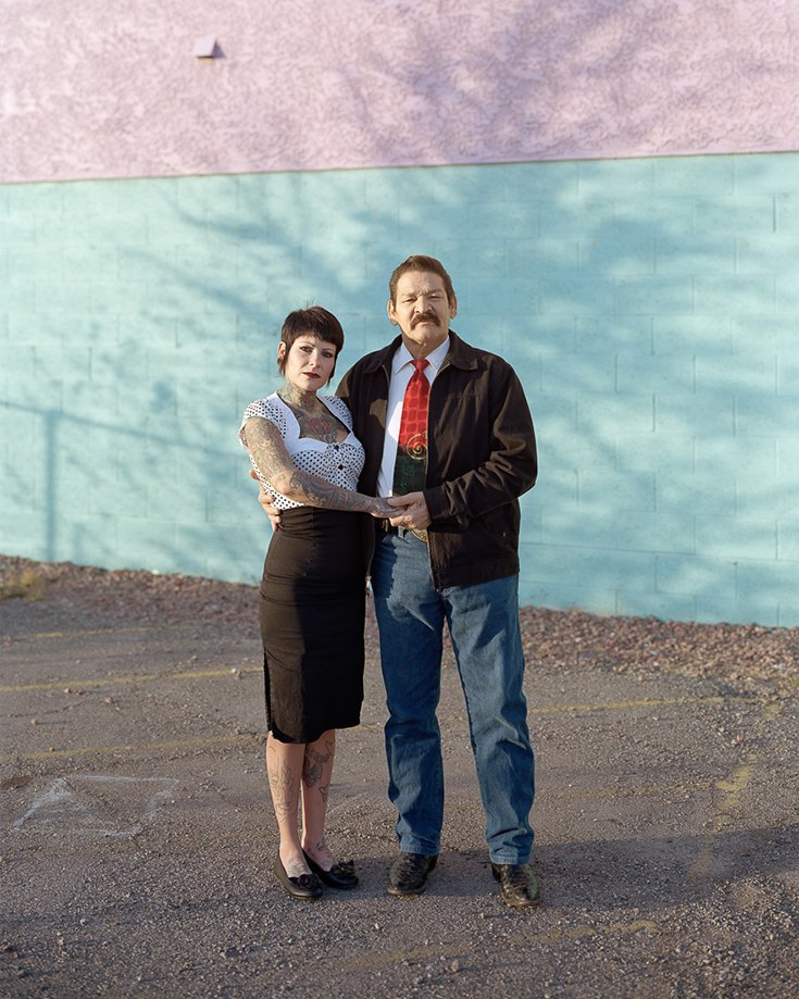 Жозетт и Хуан, Лас-Вегас, Невада, 2012. Изображение № 8.
