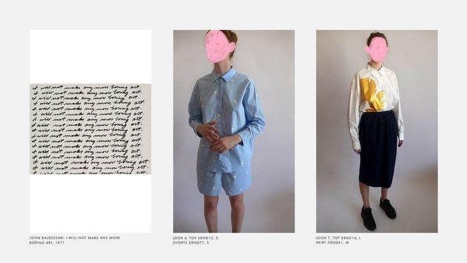 Лукбук Nina Donis, вдохновлённый полотнами Джона Балдессари. Изображение № 4.