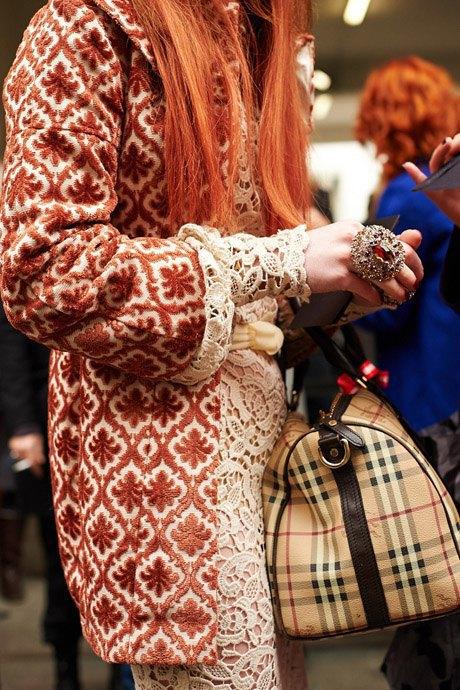 Стритстайл:  Неделя моды в Милане,  часть I. Изображение № 13.