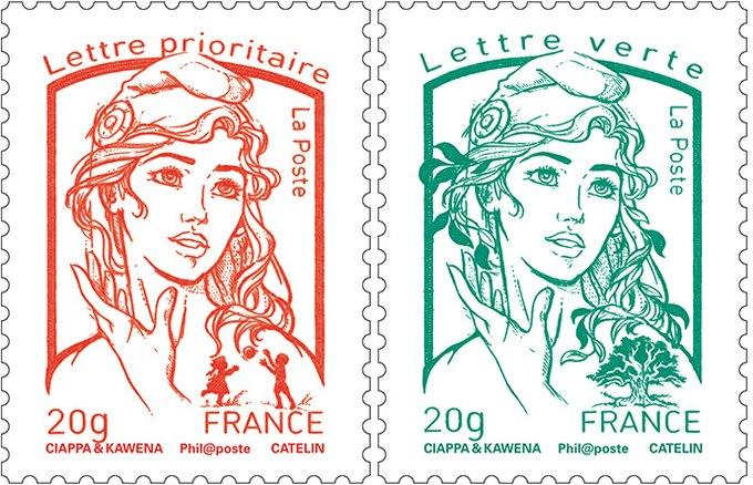 Активистка FEMEN стала новым прообразом символа Франции. Изображение № 1.