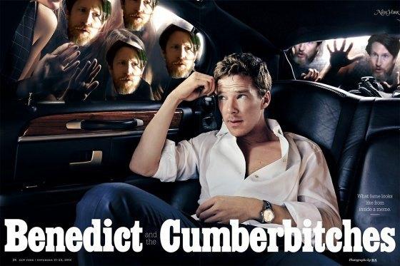 Новый мем: Бенедикт Камбербэтч и фанаты. Изображение № 11.