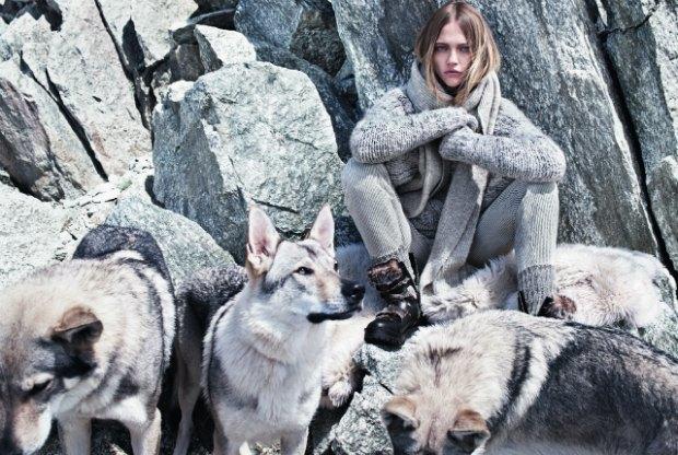 Новый лукбук Mango: Саша Пивоварова, Монблан и волки. Изображение № 12.