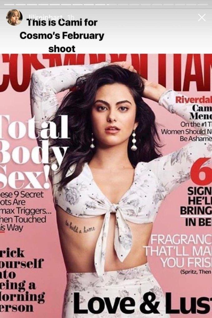 Звезда «Ривердэйла» обвинила Cosmopolitan  в чрезмерной ретуши. Изображение № 3.