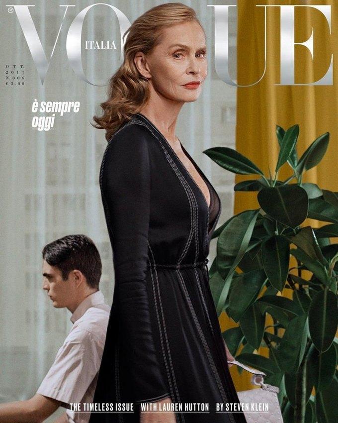 Названы лучшие обложки модных журналов 2017-го. Изображение № 1.