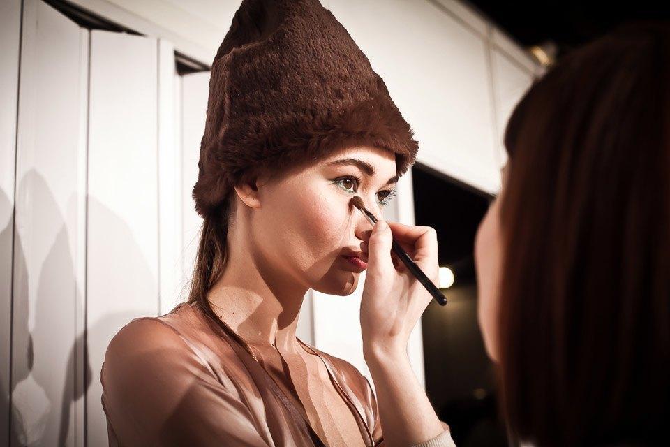 Репортаж: Летние платья  и меховые шапки Ruban FW13. Изображение № 21.