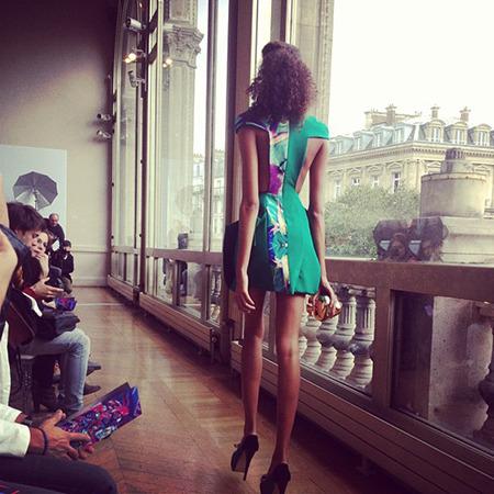 Парижская неделя моды: Чем запомнился первый день. Изображение № 11.