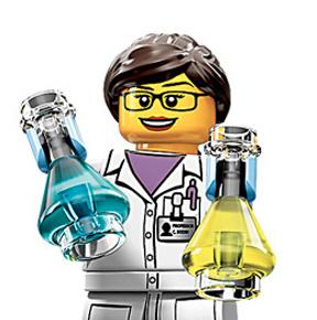 LEGO представила первую женщину-ученого. Изображение № 1.