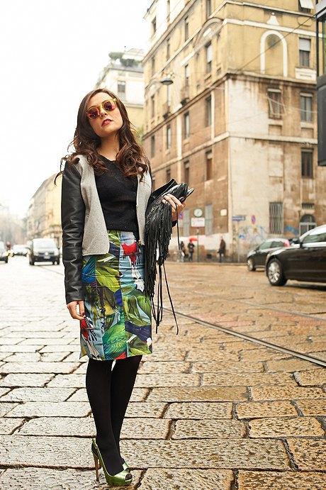 Стритстайл: Неделя моды в Милане,  часть II. Изображение № 14.