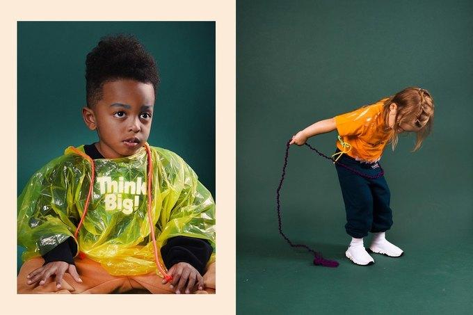 Balenciaga показали яркую детскую коллекцию. Изображение № 10.