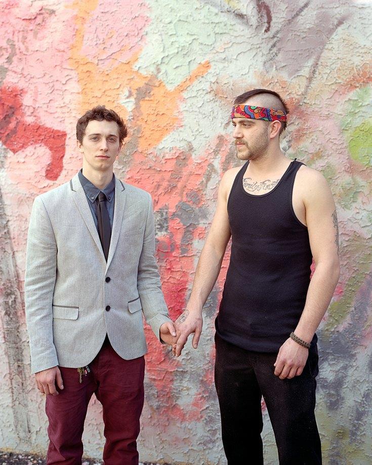 Николас и Калеб, Филадельфия, Пенсильвания, 2013. Изображение № 11.