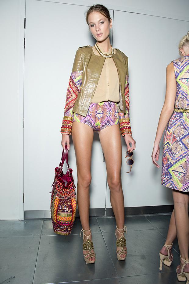 Неделя моды в Лондоне: Бэкстейджи. Изображение № 6.