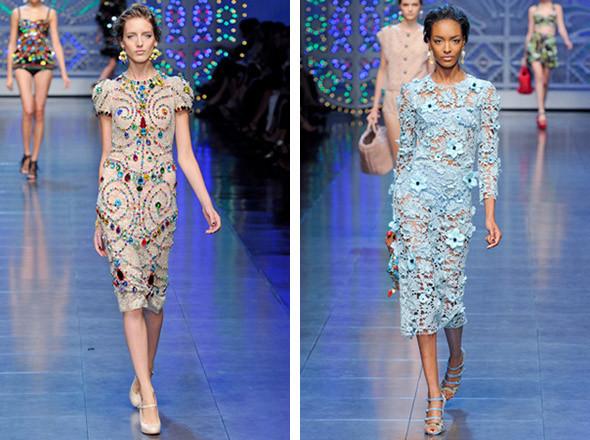 Dolce & Gabbana SS 2012 . Изображение № 29.