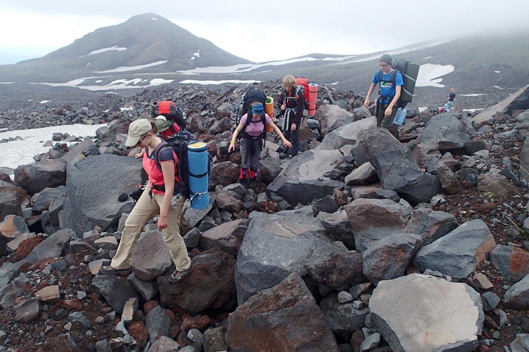 Поход по Камчатке:  160 километров пешком  и подъем на один вулкан. Изображение № 7.