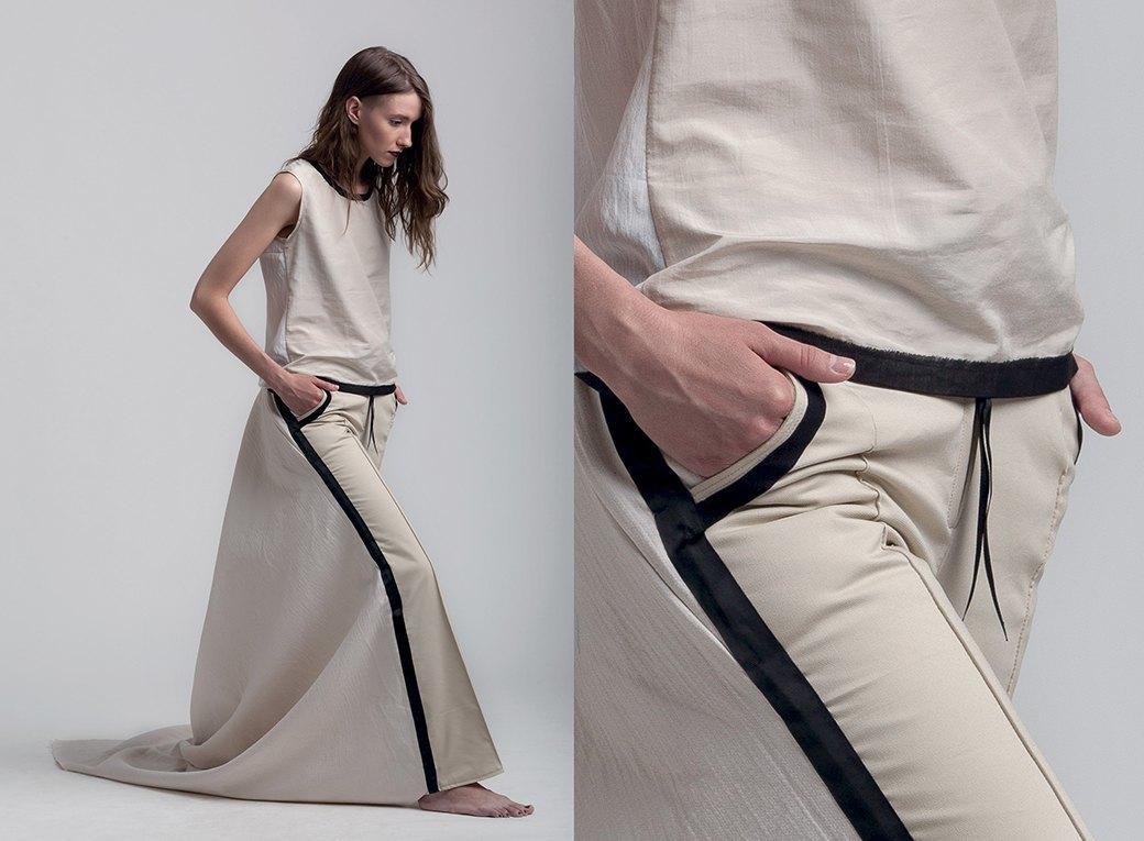 Геометричные платья и прозрачные сумки Ksenia Gerts. Изображение № 2.